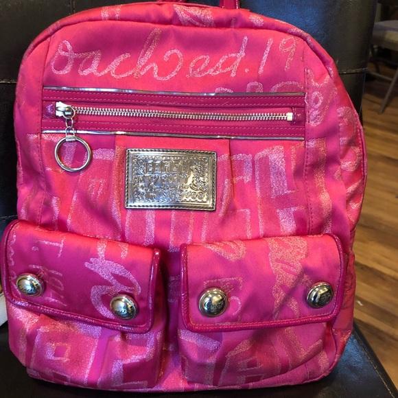 Coach Handbags - Coach Poppy Backpack